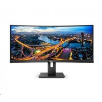 Philips MT VA LED 345B1C/00 - VA panel, 3440x1440, 2xHDMI, DP, USB, repro, nast vyska, zakriven