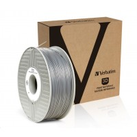 VERBATIM 3D Printer Filament ABS 1,75mm 1kg silver/metal grey (OLD PN 55016)