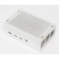 Hliníková krabička pro Raspberry Pi 4B, stříbrná