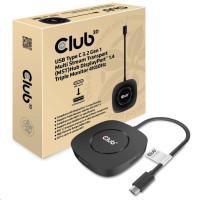 Club3D Video hub MST (Multi Stream Transport) USB-C 3.2 na 3x DisplayPort 1.4