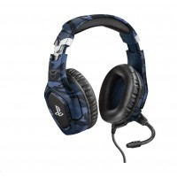 TRUST sluchátka GXT 488 Forze-B PS4 Gaming Headset - Sony Licensed - blue