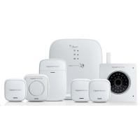 Gigaset Alarm System L (Zabezpečovací sada velká) Starter Kit+Siréna+2xsenzor okna+ kamera bílá