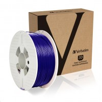 VERBATIM 3D Printer Filament ABS 1.75mm 1kg blue 2019 (OLD 55012)