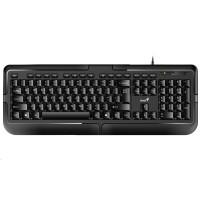 GENIUS klávesnice KB-118/ Drátová/ USB/ černá/ CZ+SK layout