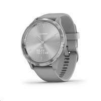 Garmin monitorovací náramek a hodinky vivomove3 Sport, Silver/Gray Band