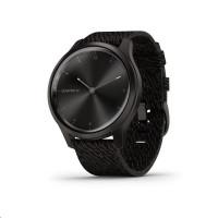 Garmin monitorovací náramek a hodinky vivomove3 Style, Slate/BlackNylon Band