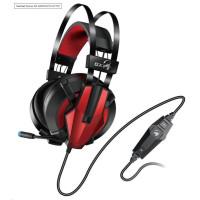 GENIUS sluchátka GX GAMING headset - HS-G710V/ 7.1/ vibrační/ USB/ ovládání hlasitosti