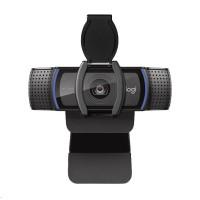 Logitech Webcam C920S, Full HD 1080p kamera vč. krytky