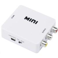 AV konvertor HDMI zásuvka a cinch zásuvka SpeaKa Professional SP-HDMI2AV SP-3957148