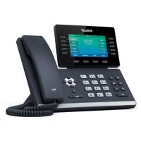 """Yealink SIP-T54W IP telefon, 4,3"""" 480x272 LCD, 27 prog tl.,2x10/100/1000,Wi-Fi, Bluetooth,PoE,16xSIP, 1xUSB,bez adaptéru"""