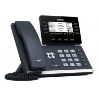 """Yealink SIP-T53W IP telefon, 3,7"""" 360x160 LCD, 21 prog tl.,2x10/100/1000,Wi-Fi, Bluetooth,PoE,12xSIP, 2xUSB,bez adaptéru"""
