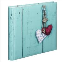 Hama album klasické RUSTICO 30x30 cm, 100 stran, Love Key