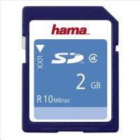 Hama paměťová karta SD 2 GB CLASS 4 10 MB/s
