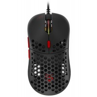 SPC Gear herní myš LIX+ / drátová / optická / PWM3360 / 800-12000dpi / 1000Hz / 6 tlačítek / 59g / ARGB/ USB