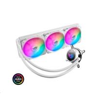 ASUS vodní chladič CPU AIO ROG STRIX LC 360 RGB White Edition, 3x120mm