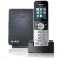"""Yealink W53P IP DECT báze+ručka, 1,8"""" 128x160 barevný LCD, PoE, až 8 ruček"""