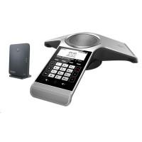 """Yealink CP930W-Base IP DECT báze + konferenční tel., 3,1"""" 248x120 LCD, Bluetooth, 1x microUSB, 1x microSD"""