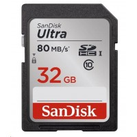 SanDisk 32GB SDHC Ultra Card (90 MB/s Class 10 UHS-I)