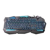 C-TECH klávesnice SCORPIA V2 (GKB-119), herní, CZ/SK, 7 barev podsvícení, programovatelná, černá, USB