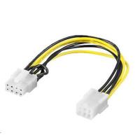 PREMIUMCORD Redukce napájení PCI Express 6 pin > PCI Express 8 pin