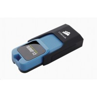 CORSAIR Flash Disk 256GB Voyager Slider X2, USB 3.0, modrá