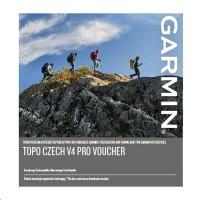 GARMIN Topo Czech V4 PRO - voucher