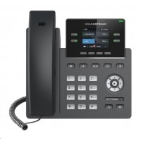 Grandstream GRP2612W [VoIP telefon - 2x SIP účet, HD audio, 16 prog.tl.+4 předvoleb, 2xLAN 100Mbps, WiFi, PoE]