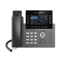 Grandstream GRP2615 [VoIP telefon - 5x SIP účet, HD audio, 40 prog.tl+10 předvoleb, 2xLAN 1Gbps, WiFi,USB,Bluetooth,PoE]