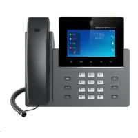 "Grandstream GXV3350 [IP video-telefon s Androidem 7.0, PoE, WiFi, 5"" dotykové LCD, 2x 1Gbps, HDMI, Bluetooth, USB]"