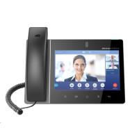 "Grandstream GXV3380 [IP video-telefon s Androidem 7.0, PoE, WiFi, 8"" dotykové LCD, 2x 1Gbps, HDMI, Bluetooth, USB]"