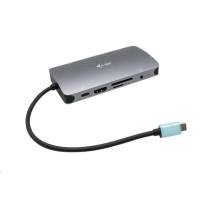iTec USB-C Metal Nano Dock HDMI/VGA with LAN + Power Delivery 100 W