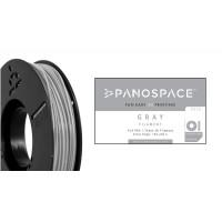 FILAMENT Panospace type: PLA -- 1,75mm, 1000 gram per roll - Šedá