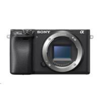 SONY Alfa 6400 fotoaparát, 24.2 MPix - tělo - černé