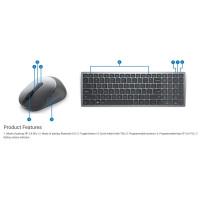 Dell Multi-Device Wireless Keyboard and Mouse - KM7120W - Czech/Slovak