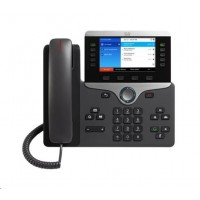 "Cisco CP-8851-3PCC-K9=, VoIP telefon, 10line, 2x10/100/1000, 5"" displej, Bluetooth, USB, PoE"