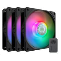 Cooler Master ventilátor SickleFlow 120 ARGB 3 in 1