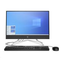 HP 200G4 AiO 21.5NT i5-10210U, 2x4GB, 256 GB M.2 NVMe TLC,SD MCR,WiFi a/b/g/n/ac,DVDRW, usb kláv. a myš, Win10Pro64
