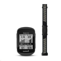 Garmin GPS cyclocomputer Edge 130 Plus HR Bundle