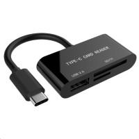 GEMBIRD Čtečka karet USB 3.1, Type-C, mini design