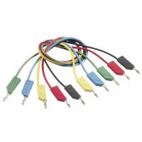 Měřicí kabel banánek 4 mm ? banánek 4 mm SKS Hirschmann CO MLN 50/1, 0,5 m, černá