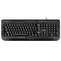 GENIUS klávesnice KB-118, drátová, PS/2, CZ+SK layout, černá