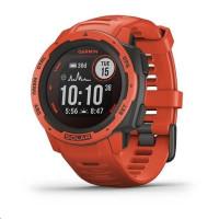 Garmin GPS sportovní hodinky Instinct Solar Red Optic