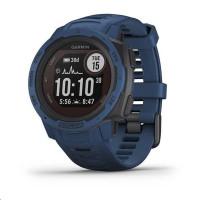 Garmin GPS sportovní hodinky Instinct Solar Blue Optic
