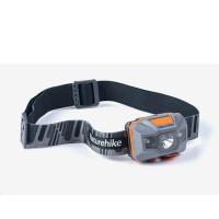 Naturehike LED čelovka TD-02, USB nabíjení 64g - šedá/oranžová