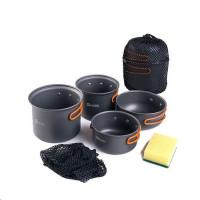 Naturehike set hliníkového nádobí 4v1 480g