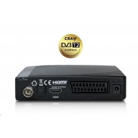 AB TereBox 2T HD terestriálny/káblový prijímač DVB-T2 CZ