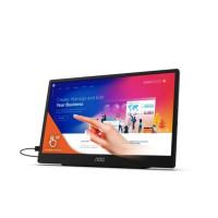 "AOC MT IPS LCD WLED 15,6"" 16T2 - IPS panel, 1920x1080, MicroUSB, USB-C, repro, dotyk 10bodu"