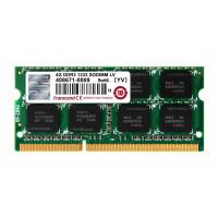 SODIMM DDR3L 4GB 1333MHz TRANSCEND 2Rx8 CL9, retail
