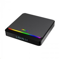 UMAX U-Box A9 - S905X3 quad core ARM Cortex A55,4GB RAM,32GB,ARM G31 MP22, HDMIddr, WiFi, BT, Android TV 9.0 Pie, RGB