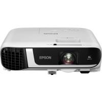 EPSON projektor EB-FH52,1920x1080,4000ANSI, 16000:1,VGA, HDMI, USB, WiFi, Miracast